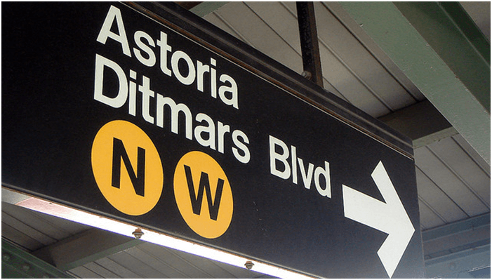 Astoria Queens Subway Station